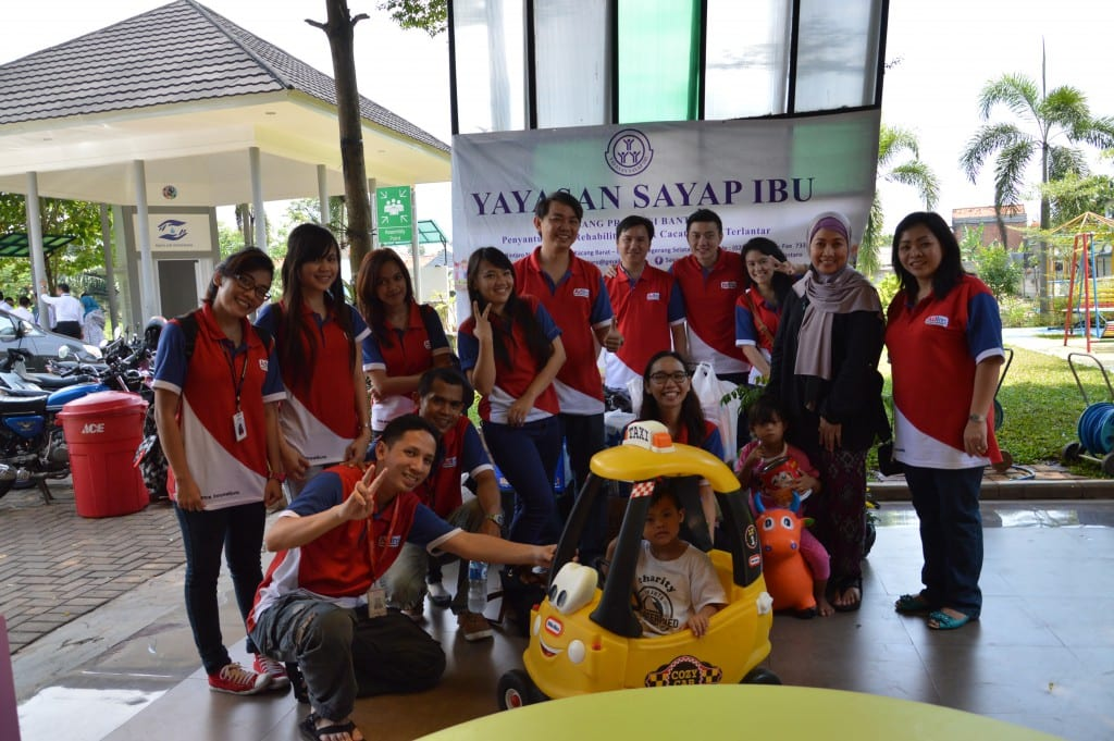 CSR for Yayasan Sayap Ibu