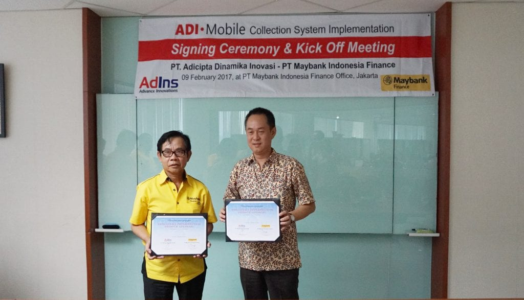 Mobile Collection System Signing Ceremony and Kick Off Meeting
