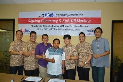 LiteDMS System Signing Ceremony and Kick Off Meeting