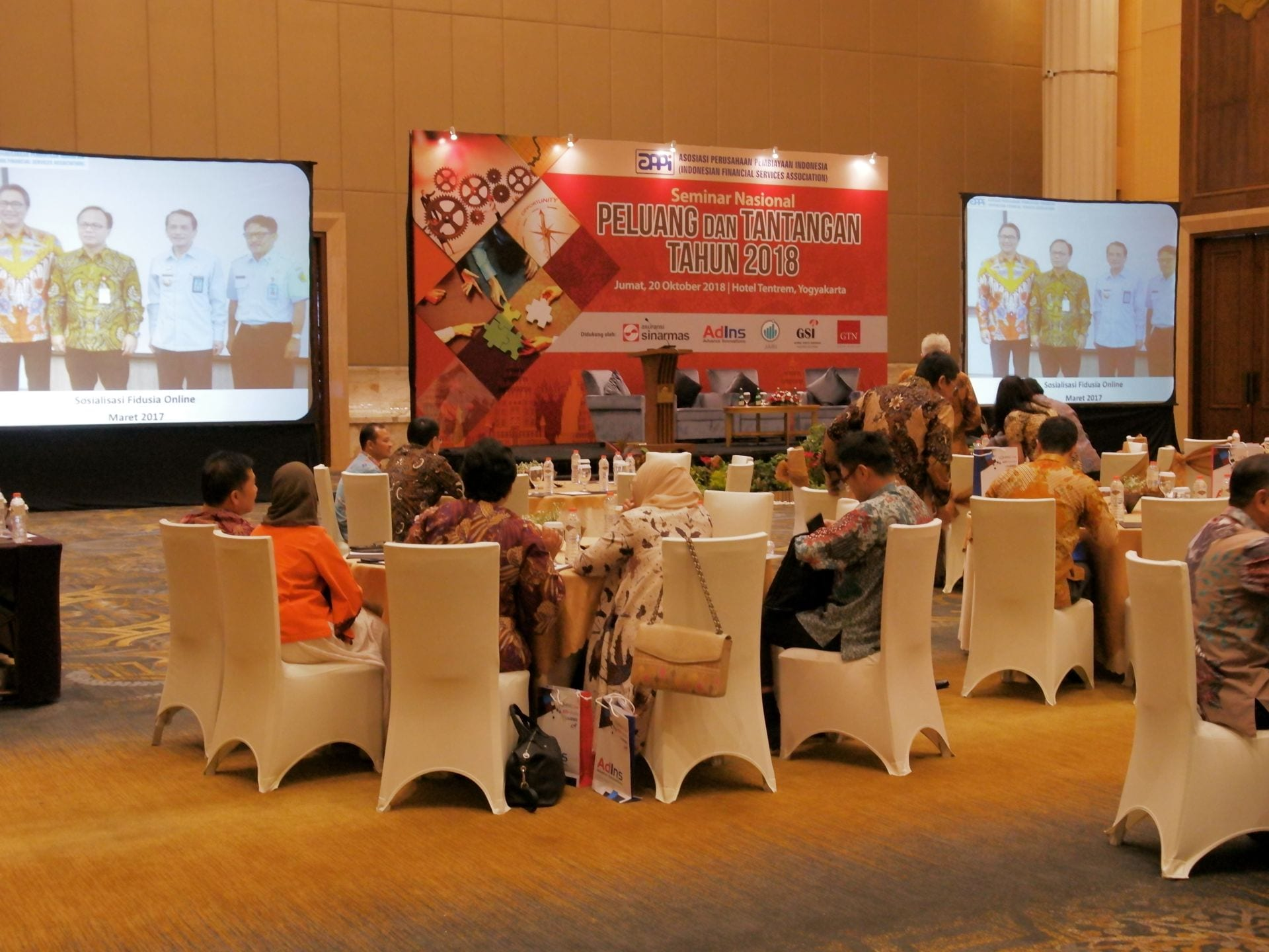 AdIns Support on Seminar Nasional Multifinance