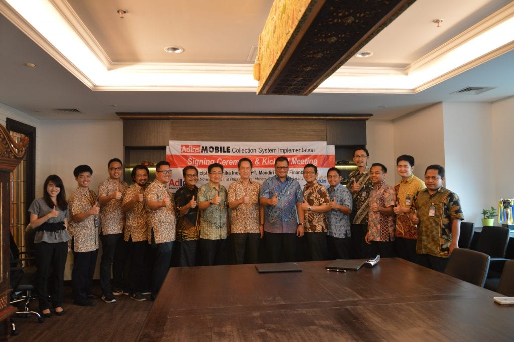 Mobile Collection System Signing Ceremony and Kick Off MUF