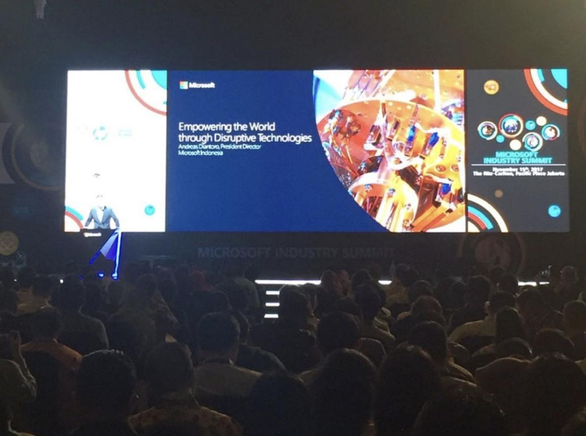 Dukungan AdIns pada Microsoft Industry Summit 2017