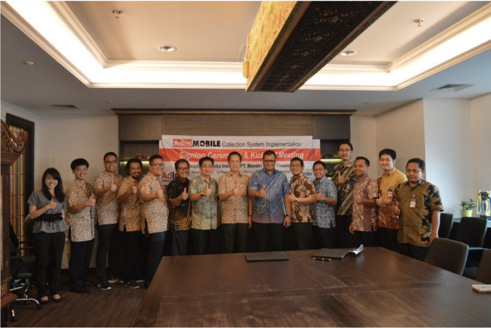 Seremonial Penandatanganan Sistem Mobile Collection dan Rapat Perdana di MUF