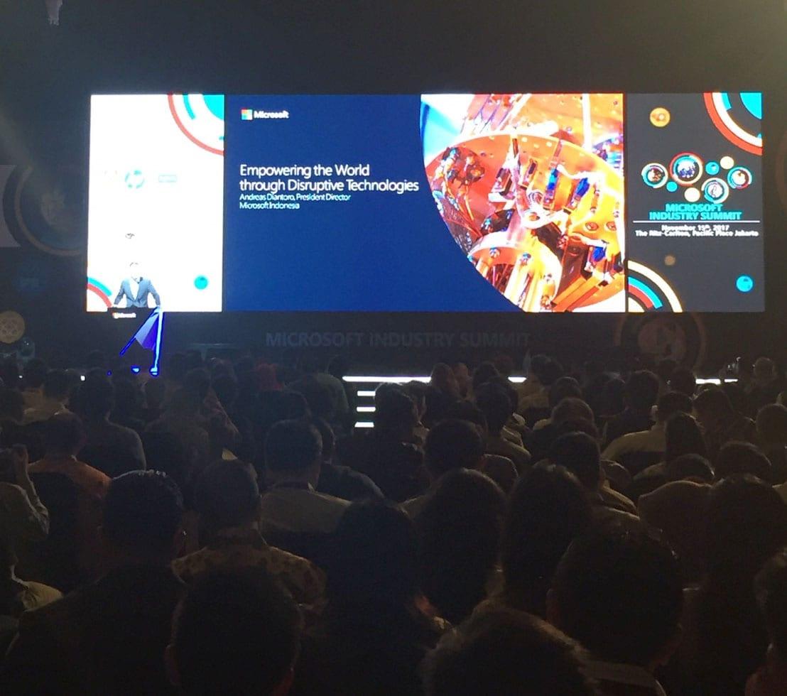 AdIns Support On Microsoft's Industry Summit 2017