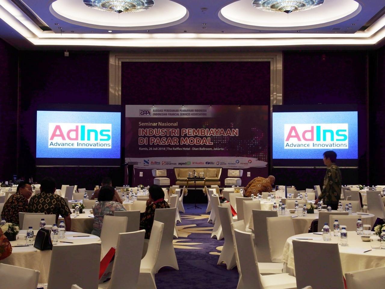 Peran dan Dukungan AdIns dalam Seminar Nasional APPI – Solusi AdIns untuk Multi Finance