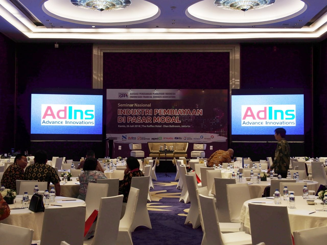 AdIns Took a Role on Supporting APPI's National Seminar – AdIns, Solution for Multifinance