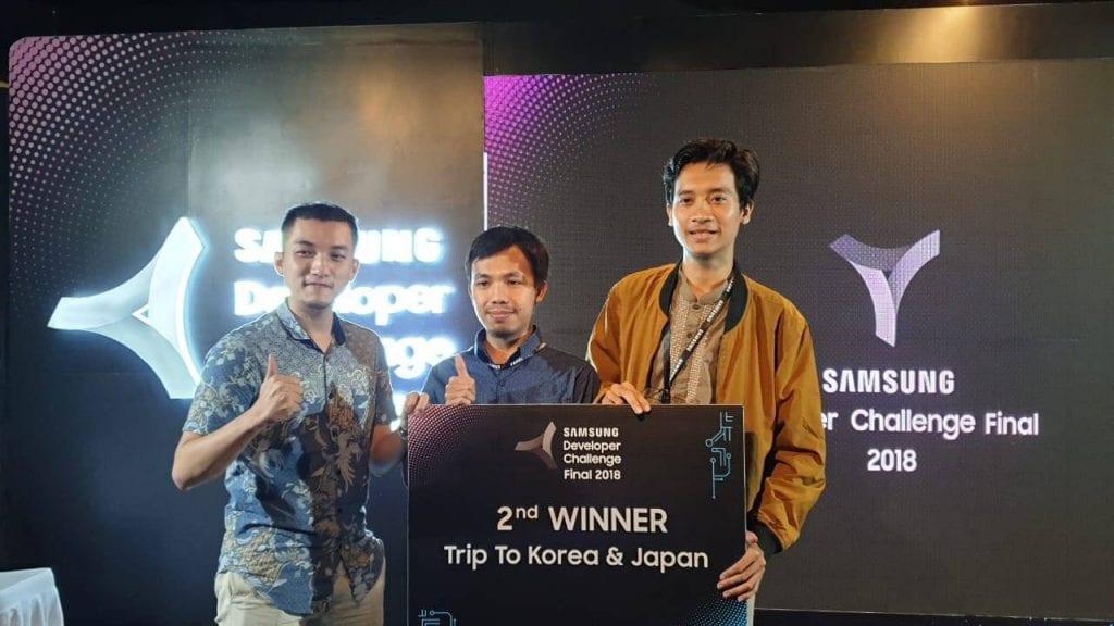, ADINS Juara 2 Samsung Developer Challenge 2018, Advance Innovations