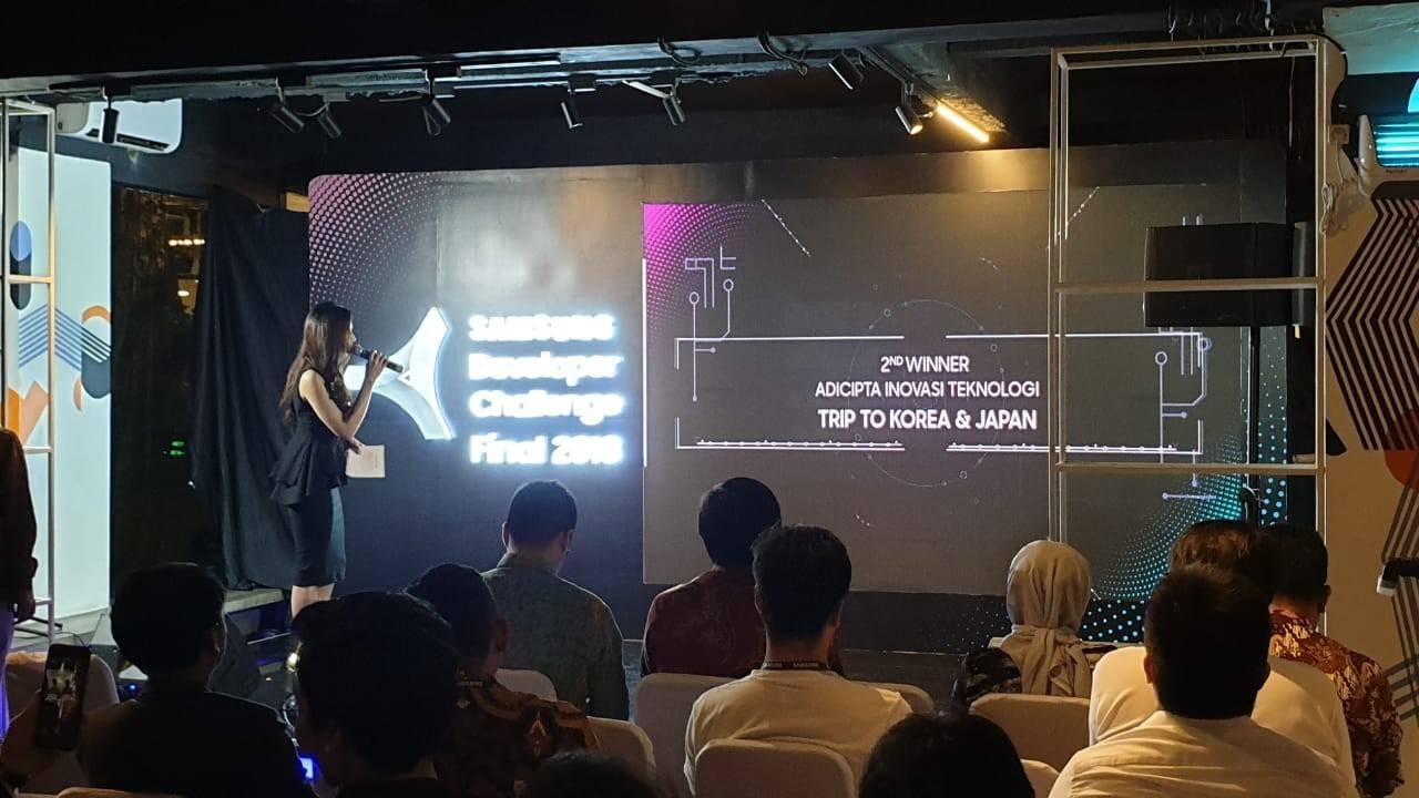 ADINS's  2nd Winner in Samsung Developer Challenge 2018