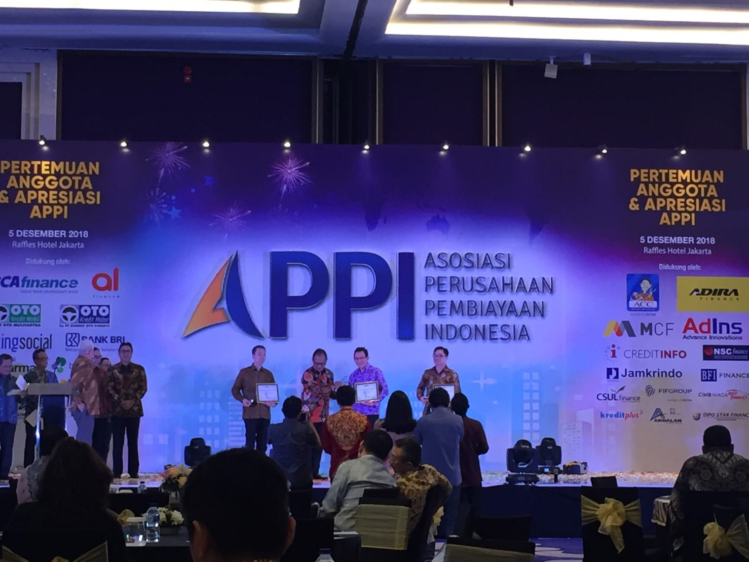 AdIns Supports on APPI's Member Conference and Appreciation