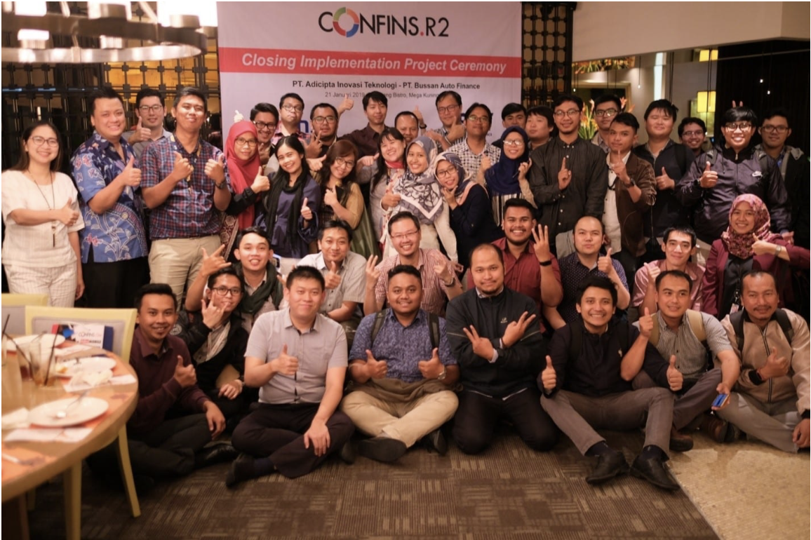 CONFINS Implementation Project Closing Ceremony Dengan BAF