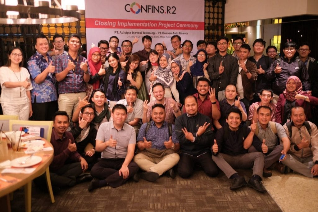 , CONFINS Implementation Project Closing Ceremony Dengan BAF, Advance Innovations