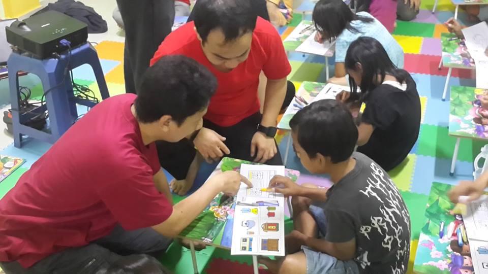 CSR for SDN Sukabirus, Megamendung