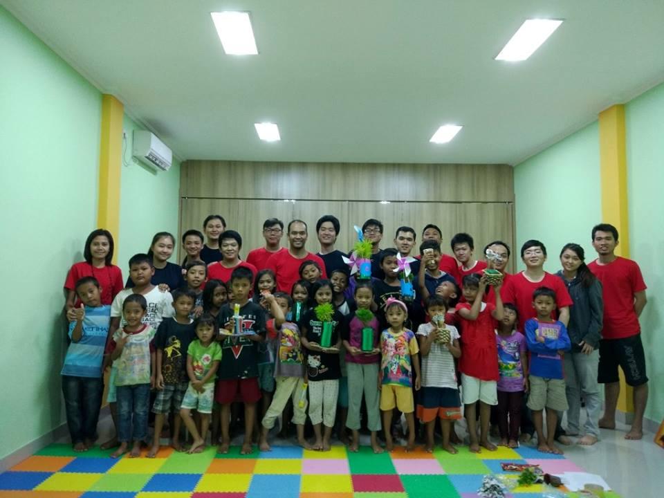 CSR for Homeless Kids in Kedoya Jakarta