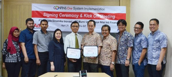 CONFINS.R2 System Signing Ceremony and Kick Off Meeting