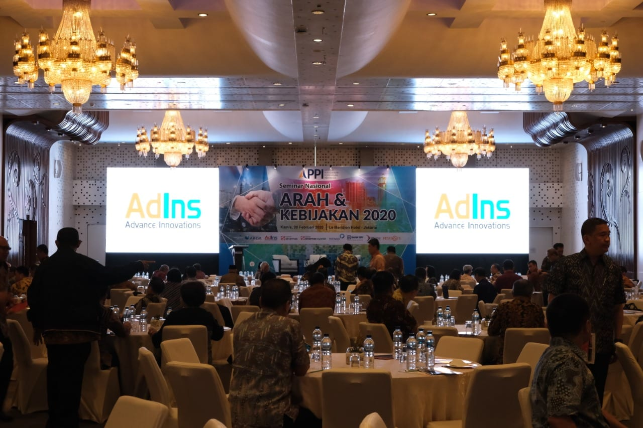 "AdIns Participation in  APPI National Seminar Entitled ""Arah & Kebijakan 2020"""