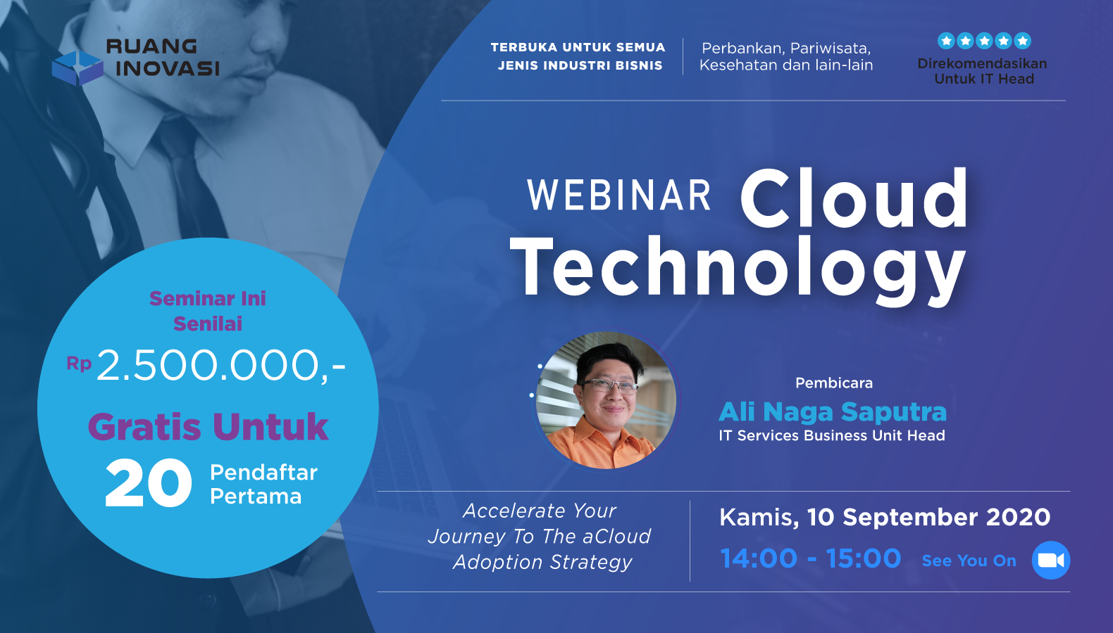 AdIns Presents Ruang Inovasi Cloud Technology Webinar