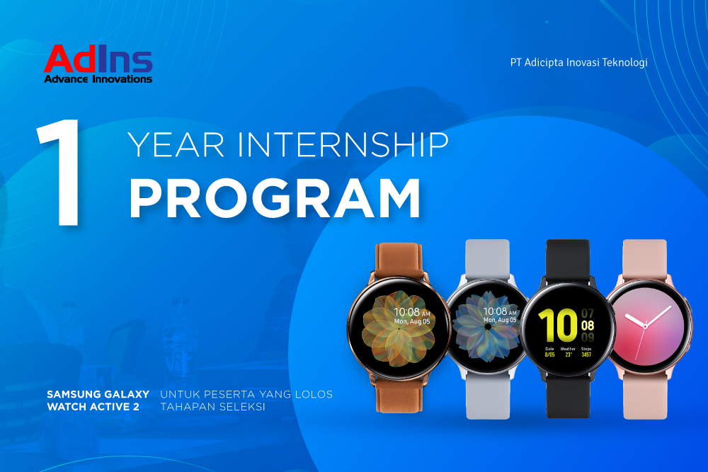 AdIns One Year Internship Program