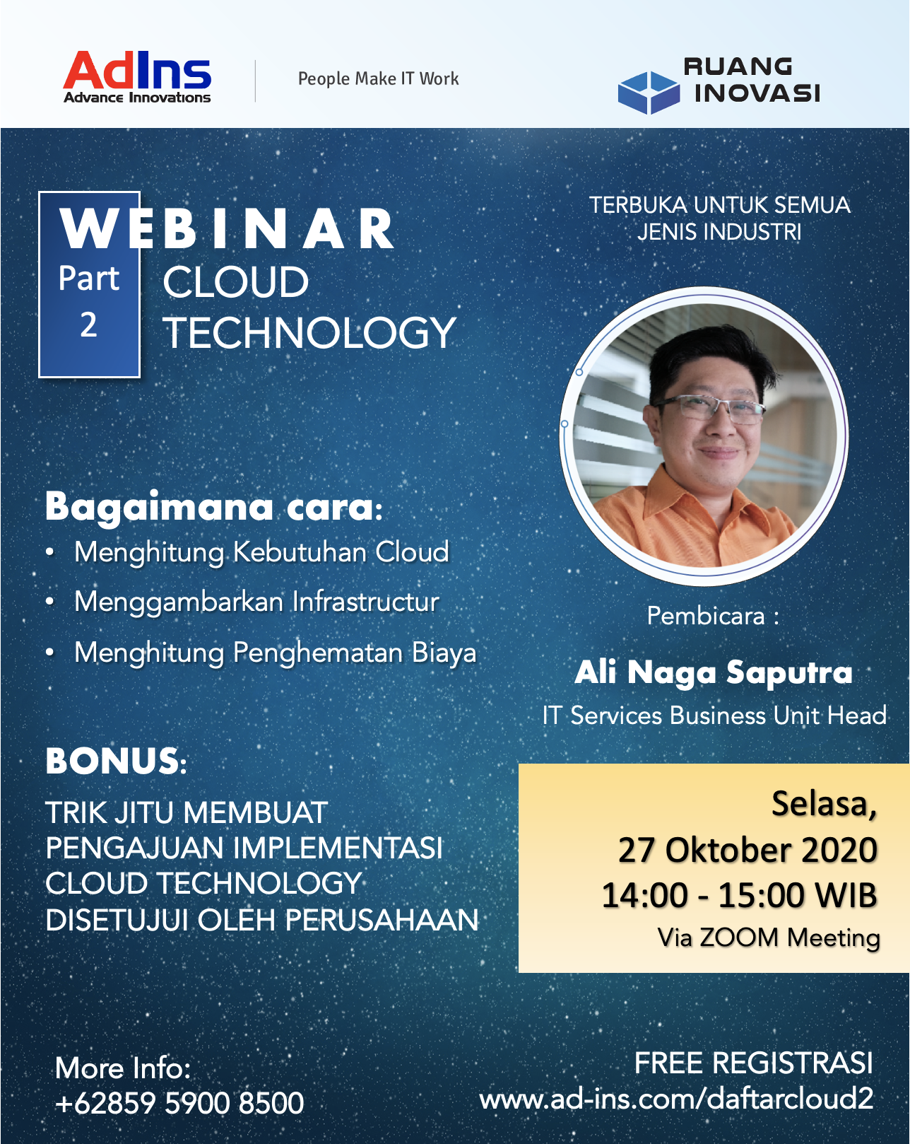 Ruang Inovasi: Cloud Technology Webinar Part 2