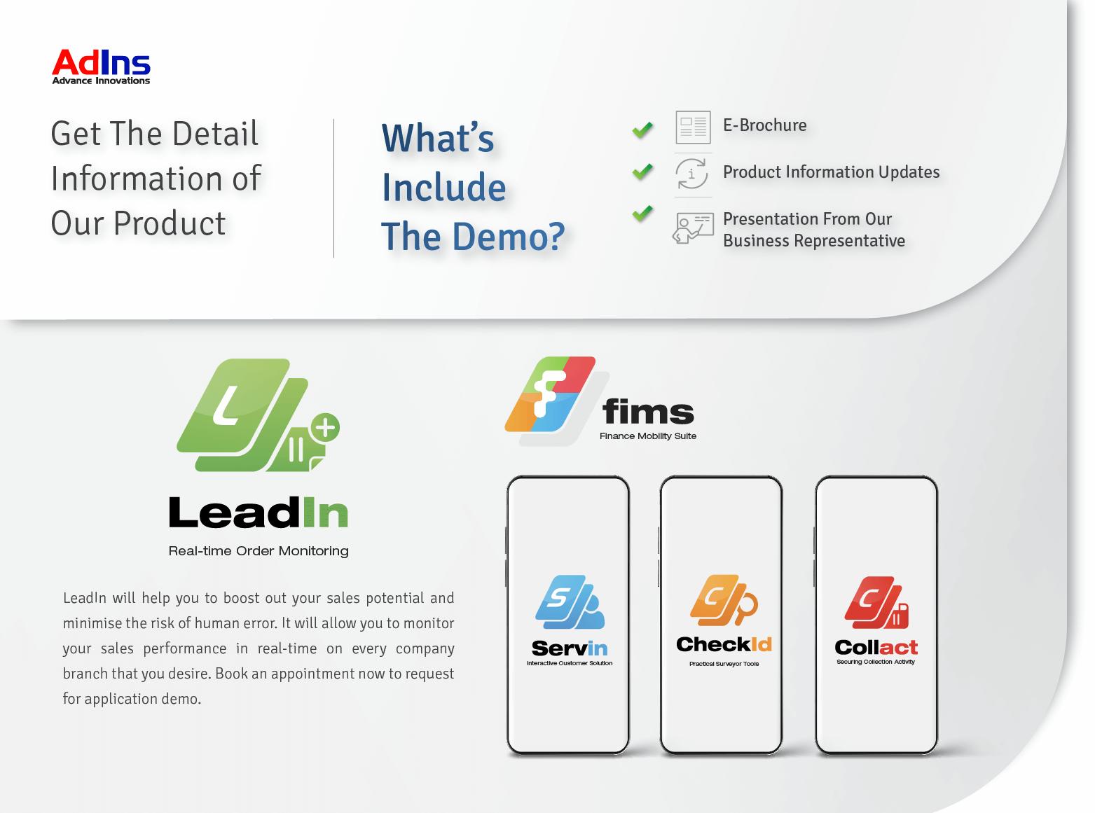 , LeadIn Details, Advance Innovations