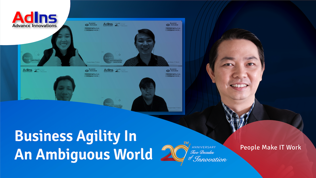 "Ruang Inovasi: ""Business Agility In An Ambiguous World"""