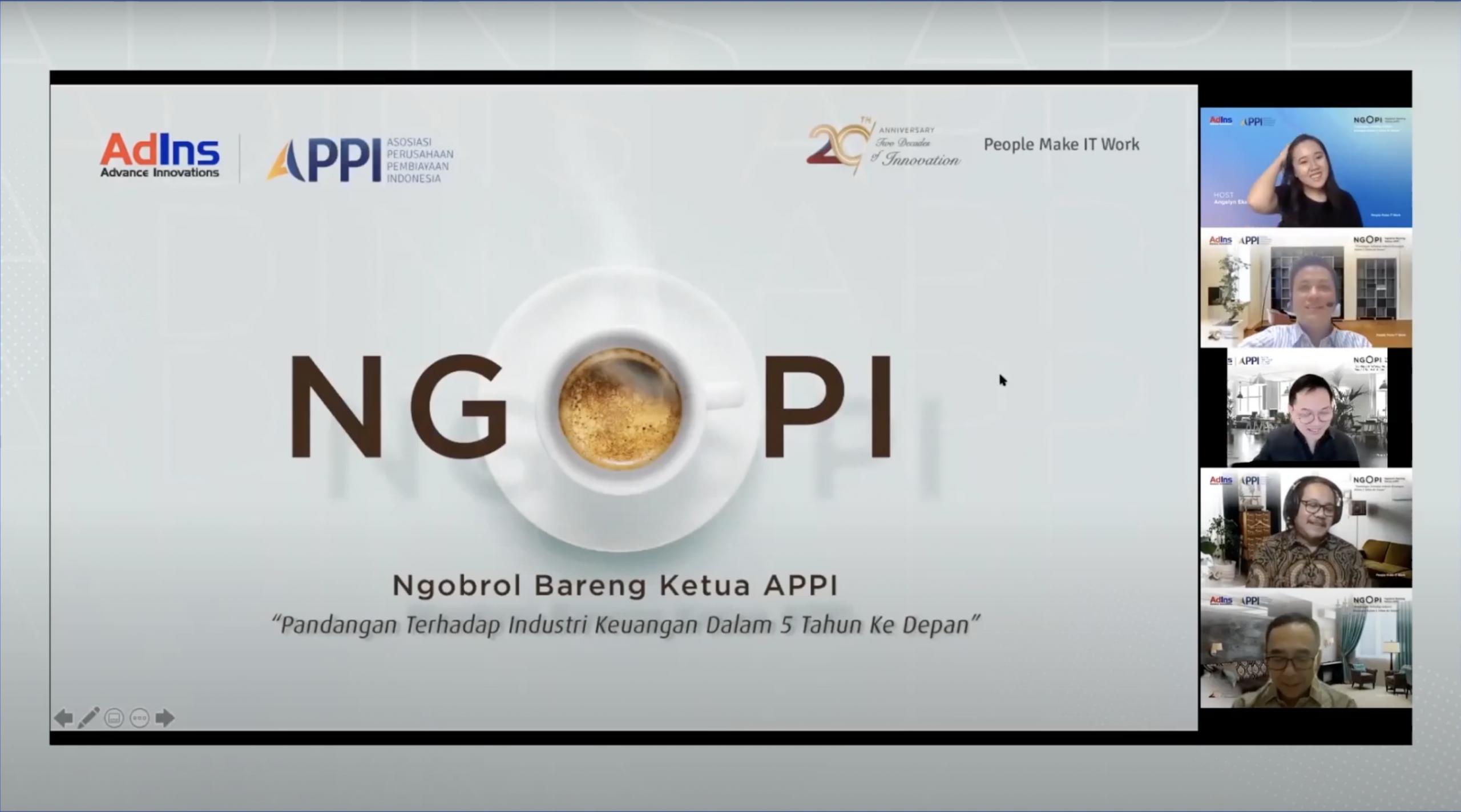 NGOPI –  Ngobrol Bareng Pelaku Industri:  Bersama Bapak Suwandi Wiratno,  Ketua Umum APPI