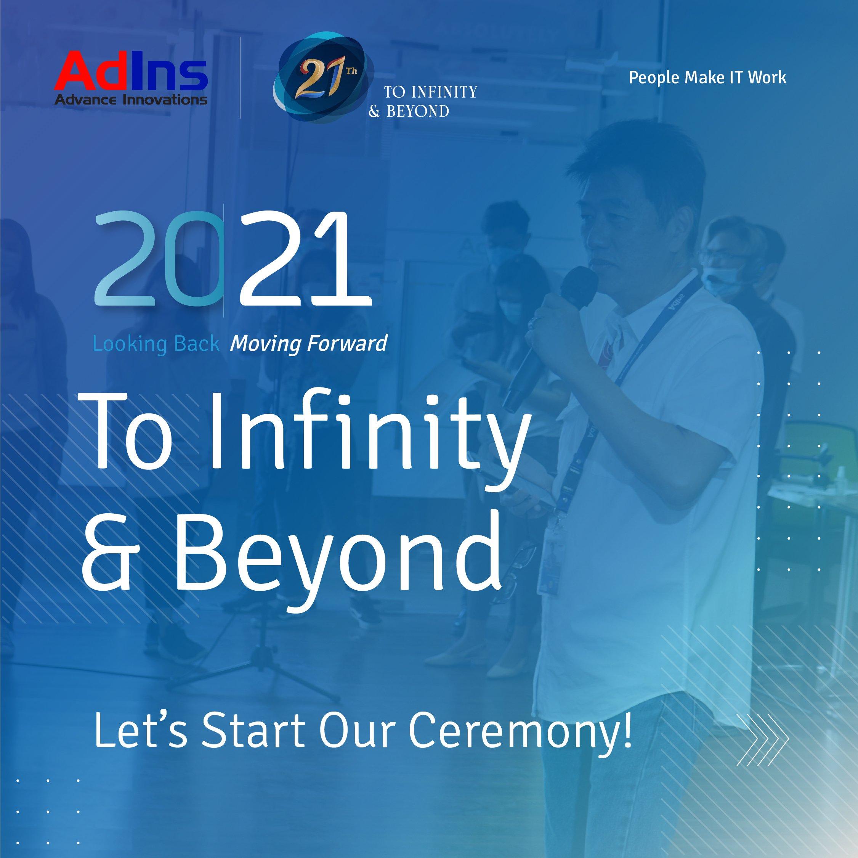 To Infinity & Beyond 21st AdIns' Anniversary –  Sambutan Bapak Guntur Gozali, Direktur Utama PT Adicipta Inovasi Teknologi